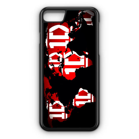 1D Map World iPhone 7 Case - iPhone 7 case