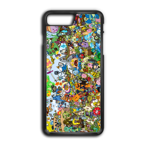 Adventure Time All Character iPhone 8 Plus Case