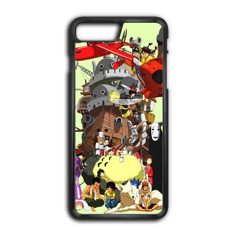 Studio Ghibli Collage iPhone 8 Plus Case