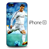 Cristiano Ronaldo CR7 Poster iPhone SE Case