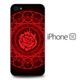 Ruby Rose Symbol RWBY iPhone SE Case