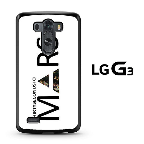 30 Second to Mars Logo LG G3 Case
