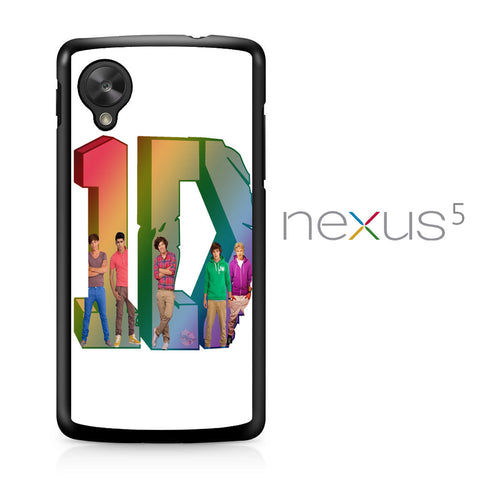 1D Logo Colourfull Nexus 5 Case - Nexus 5 case