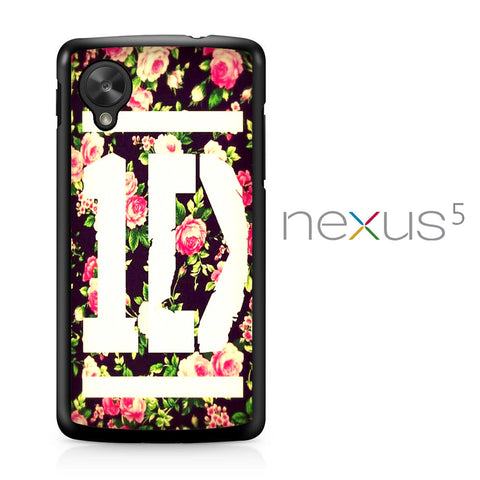 1D Logo Flower Nexus 5 Case - Nexus 5 case