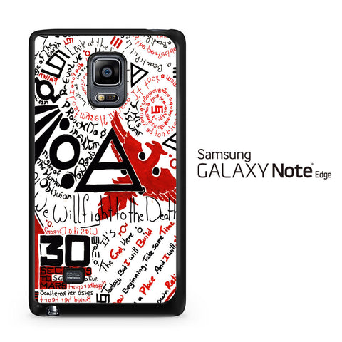 30 Second to Mars Quotes Samsung Galaxy Note Edge Case
