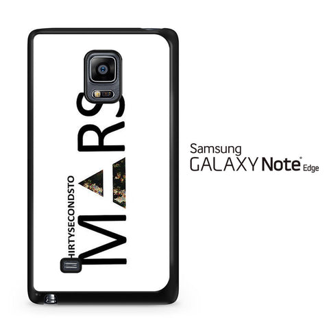 30 Second to Mars Logo Samsung Galaxy Note Edge Case