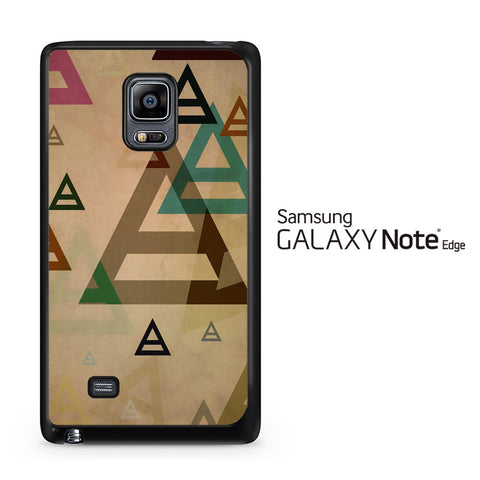 30 Second to Mars Pattern Samsung Galaxy Note Edge Case