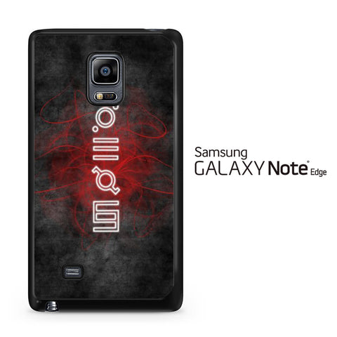 30 Second To Mars Script Samsung Galaxy Note Edge Case