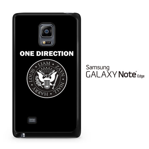 1D Liam Zayn Niall Harry Louis Samsung Galaxy Note Edge Case - Samsung Galaxy Note Edge case