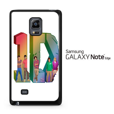 1D Logo Colourfull Samsung Galaxy Note Edge Case - Samsung Galaxy Note Edge case
