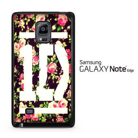 1D Logo Flower Samsung Galaxy Note Edge Case - Samsung Galaxy Note Edge case