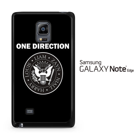 1D Ramones Samsung Galaxy Note Edge Case