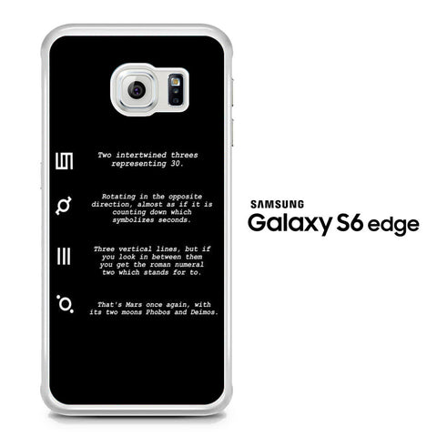 30 Second to Mars Symbol Definition Samsung Galaxy S6 Edge Case