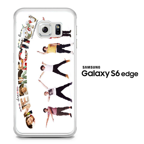 1D One Dreams One Lands Samsung Galaxy S6 Edge Case - Samsung Galaxy S6 Edge case