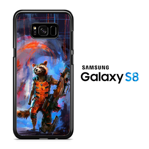Guardians Of The Galaxy Rocket Racoon Samsung Galaxy S8 Case