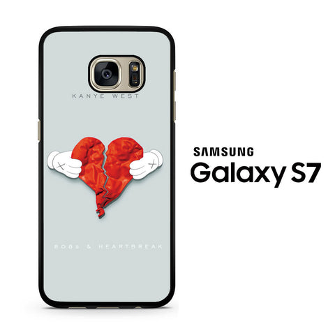 808s Kanye West and Heartbreak Samsung Galaxy S7 Case