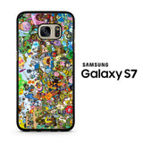 Adventure Time All Character Samsung Galaxy S7 Case