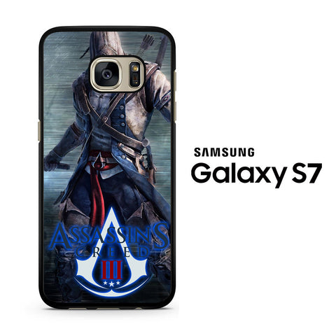 Assassin's Creed 3D Action Video Game Samsung Galaxy S7 Case