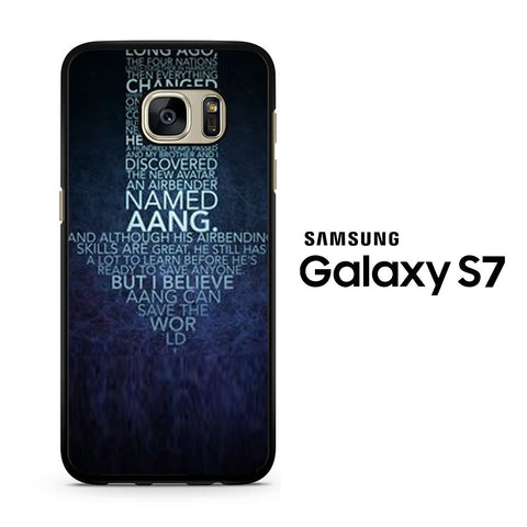 Avatar Quotes Samsung Galaxy S7 Case