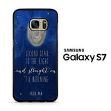 Peter Pan Quotes Samsung Galaxy S7 Case