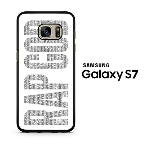 Rap God White Eminem Samsung Galaxy S7 Case