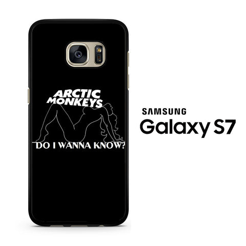 Arctic Monkeys Do I Wanna Know Lyrics Samsung Galaxy S7 Case