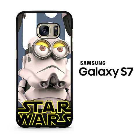 Minion Star Wars Stormtrooper Samsung Galaxy S7 Case