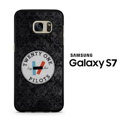 Twenty One Pilots Stay Alive Logo Samsung Galaxy S7 Case