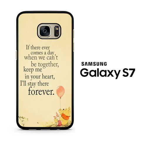 Winnie The Pooh Quotes Samsung Galaxy S7 Case