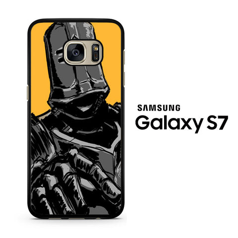 Black Iron Tarkus Yellow Samsung Galaxy S7 Case