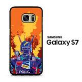 Chappie Police Samsung Galaxy S7 Case
