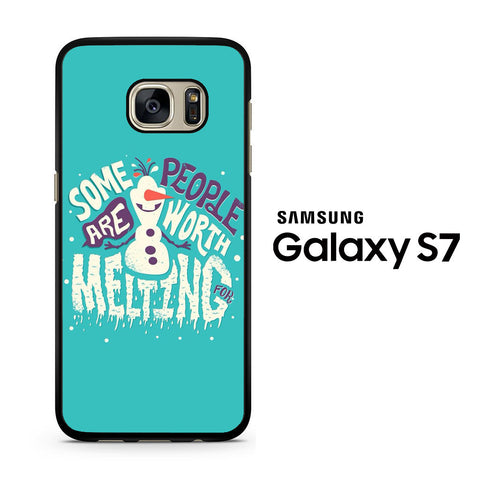 Disney Frozen Melting Samsung Galaxy S7 Case