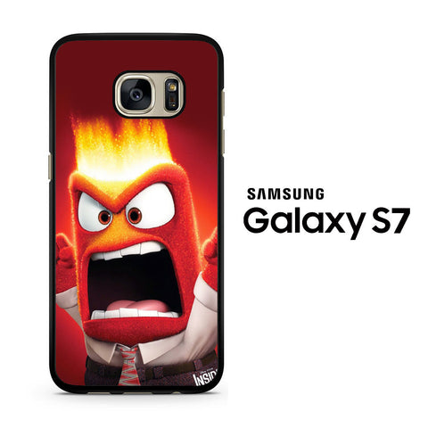Disney Inside Out Anger Samsung Galaxy S7 Case