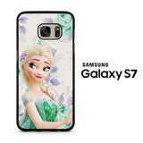 Frozen Elsa Flowers Samsung Galaxy S7 Case