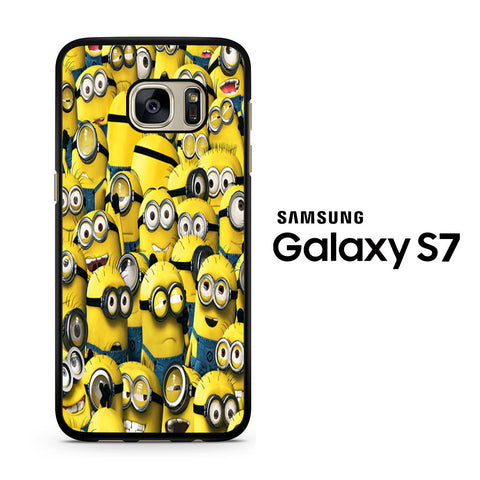 Minions All Collage Samsung Galaxy S7 Case