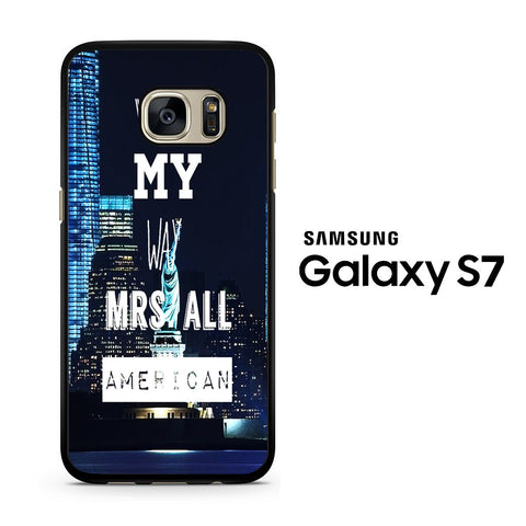 Mrs All American Samsung Galaxy S7 Case