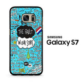 The Fault in Our Stars Quotes Flag Samsung Galaxy S7 Case