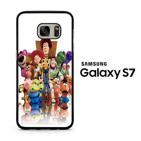 Toy Story All Characters Samsung Galaxy S7 Case