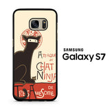 A French Ninja Cat Samsung Galaxy S7 Case