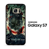 Batman and Joker The Dark Knigth Samsung Galaxy S7 Case