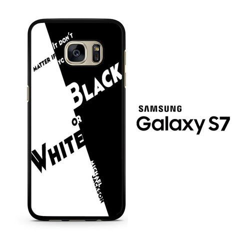 Black Or White Michael Jackson Samsung Galaxy S7 Case
