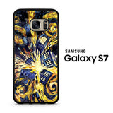 Doctor Who Exploded Tardis Van Gogh Samsung Galaxy S7 Case