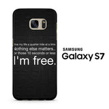 Fast Furious 7 Quotes Samsung Galaxy S7 Case