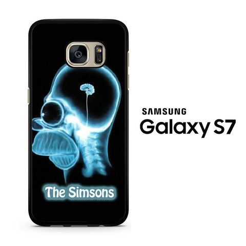The Simsons Samsung Galaxy S7 Case