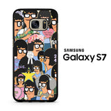 Tina Belcher Collage Samsung Galaxy S7 Case