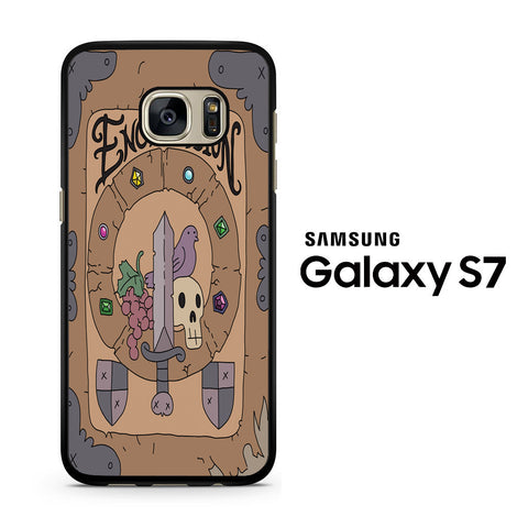Adventure Time Enchiridion Samsung Galaxy S7 Case