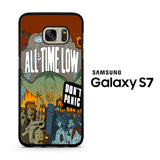 All Time Low Don't Panic Samsung Galaxy S7 Case