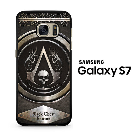 Assassin Creed Black Samsung Galaxy S7 Case