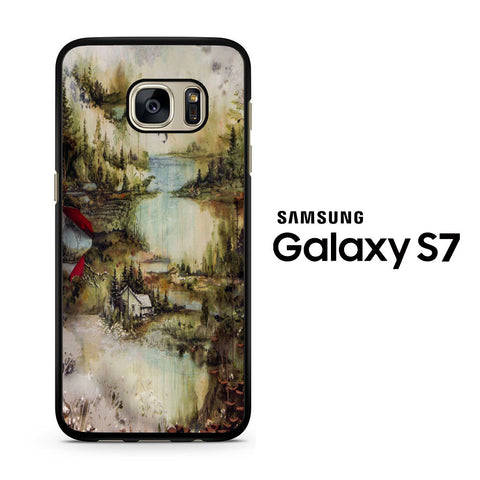 Bon Iver frontal Samsung Galaxy S7 Case