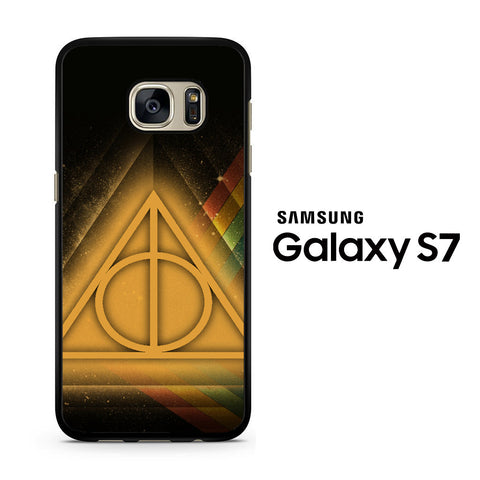 Deathly Hollows 2 Samsung Galaxy S7 Case